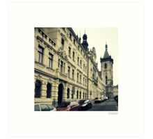 New Town Hall in Charles Square Prague Czech Republic Art Print