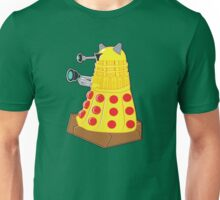 Pepperoni Pizza Dalek Unisex T-Shirt
