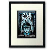 Poster for Hubba Hubba Revue | NYE | Comrade Tang Framed Print