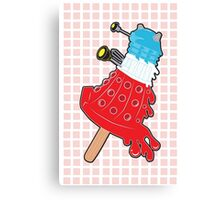 Rocket Pop Dalek 2 Canvas Print