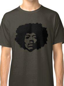 Jimi Hendrix Outline Classic T-Shirt