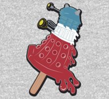 Rocket Pop Dalek 2 Kids Tee
