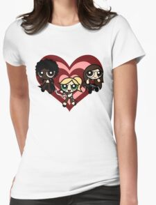 PowerPuff Slayers Womens Fitted T-Shirt