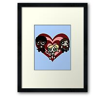 PowerPuff Slayers Framed Print