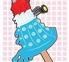 Rocket Pop Dalek by NikoTrash