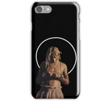 young thug wearing a dress iPhone Case/Skin