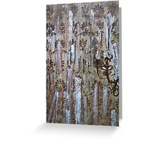 Time Drips Away Greeting Card
