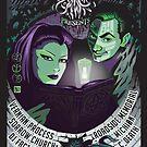 Poster for Shadow Society | Arcana Elegos & Joshua Pfeiffer (DJ Fact .50) by caseycastille