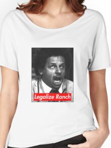 Eric Andre - Legalize Ranch - Red Women's Relaxed Fit T-Shirt