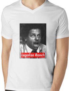 Eric Andre - Legalize Ranch - Red Mens V-Neck T-Shirt