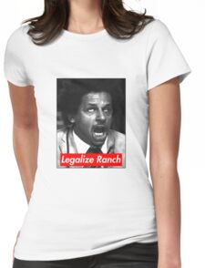 Eric Andre - Legalize Ranch - Red Womens Fitted T-Shirt