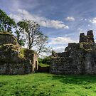 Pendragon Castle, Cumbria by Tom Gomez