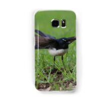 Wings Out Willie Wagtail Samsung Galaxy Case/Skin
