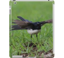 Wings Out Willie Wagtail iPad Case/Skin