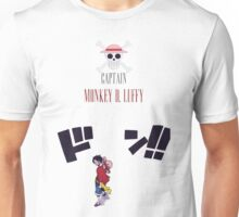 CAPTAIN MONKEY D. LUFFY ONE PIECE Unisex T-Shirt