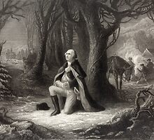 George Washington Praying by Vintage Works