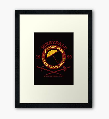 Scooby Club Framed Print