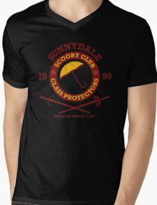Scooby Club Mens V-Neck T-Shirt