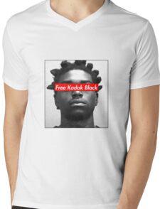 Free Kodak Black Mens V-Neck T-Shirt