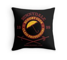 Scooby Club Throw Pillow