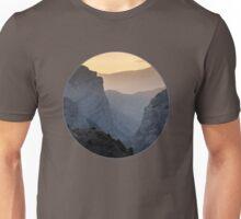 Coucher de soleil dans le Pamir Unisex T-Shirt