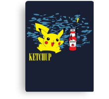 Nevermind Pikachu Canvas Print