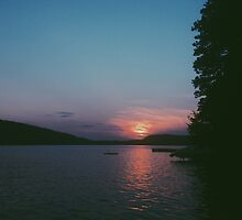 Lake Sunapee, NH Sunset Summer 2014 by Eac2310
