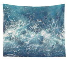 Sea splashes Wall Tapestry