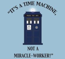 """It's a Time Machine, Not a Miracle-Worker!"" by Mister Dalek and Co ."