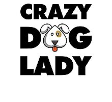 Crazy Dog Lady Photographic Print