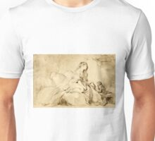 Oh! If Only He Were as Faithful to Me - Jean-Honoré Fragonard - ca. 1770 Unisex T-Shirt