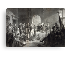 George Washington and His Generals Canvas Print