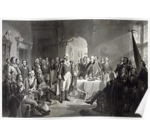 George Washington and His Generals Poster