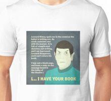 Leonard Nimoy's Journal Unisex T-Shirt