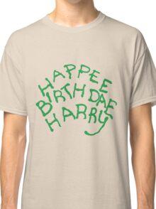 Happee Birthdae Harry Classic T-Shirt