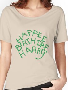 Happee Birthdae Harry Women's Relaxed Fit T-Shirt