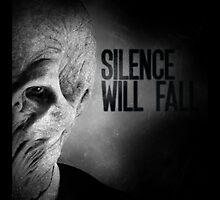 Silence Will Fall by geekcases