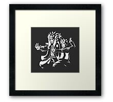 Razengan Fiction Framed Print