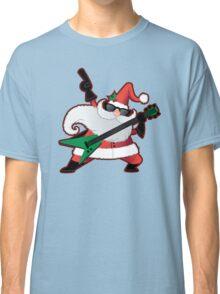 Rock Star Santa Claus Classic T-Shirt