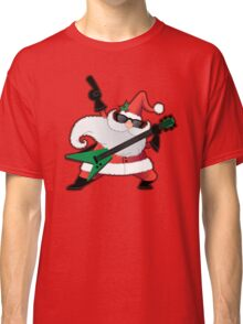 Rock Star Santa Claus Classic T-Shirt