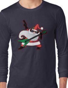 Rock Star Santa Claus Long Sleeve T-Shirt