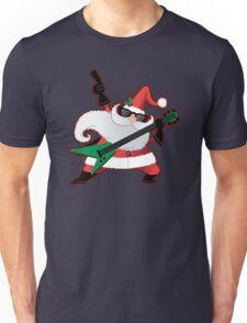 Rock Star Santa Claus Unisex T-Shirt