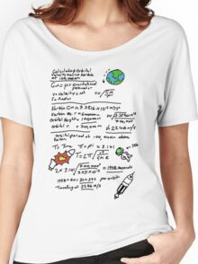 Kerbal Orbit Science 1 Women's Relaxed Fit T-Shirt