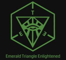 Emerald Triangle Enlightened (transparent) by etheraum