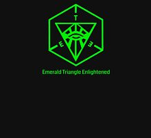 Emerald Triangle Enlightened (transparent) Unisex T-Shirt