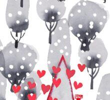 I heart xmas Sticker