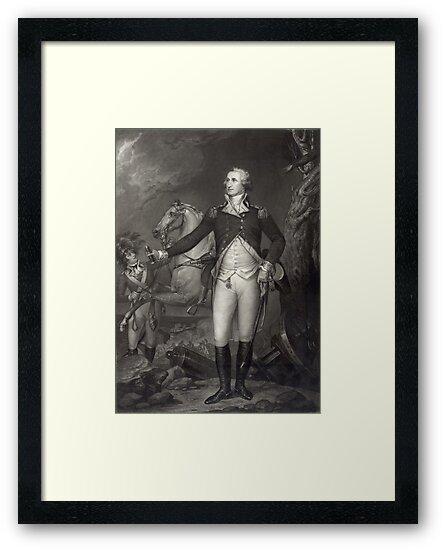 George Washington on the Battlefield by Vintage Works