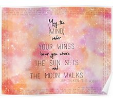 May the Wind Under your Feet Poster