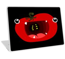 Cute Tomato Monster Laptop Skin