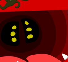Cute Tomato Monster Sticker